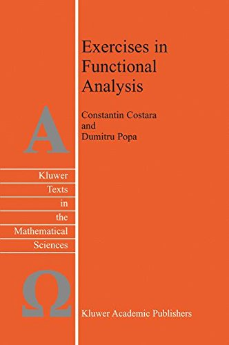 Exercises in Functional Analysis (Texts in the Mathematical Sciences)