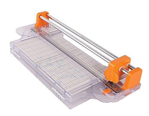 Fiskars Bypass ProCision - Cizalla rotatoria, 30 cm, A4