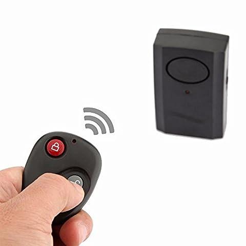 Mengshen drahtloser Fernsteuerungserschütterungs-Warnungs-Hauptsicherheit Tür-Fenster-Auto-Motorrad-Diebstahl-Einbrecher-Sicherheits-Warnungs-Safe-System-Detektor