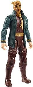 Mattel DC Batman Missions-Figura de acción 30cm Scarecrow, Juguetes niños +4 años, Multicolor GCK89