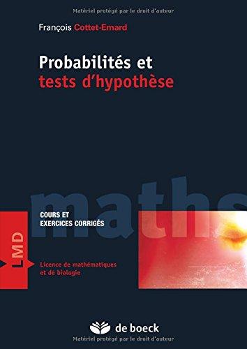 Probabilits et tests d'hypothses
