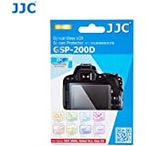 JJC GSP-200D PET Ultra Thin Polycarbonate LCD Optical Glass Display Screen Protector for Canon Rebel SL2 / EOS 200D / Kiss X9 DSLR Digital Camera