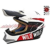 Casco Shiro Cross Kids MX-306 Wild Wolf (S)