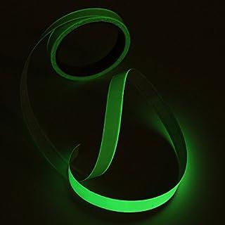 ChaRLes 5M Nacht selbstklebende Sicherheits Aufkleber Klebeband glühen leuchtende Leuchtstoff Bänder - Grün