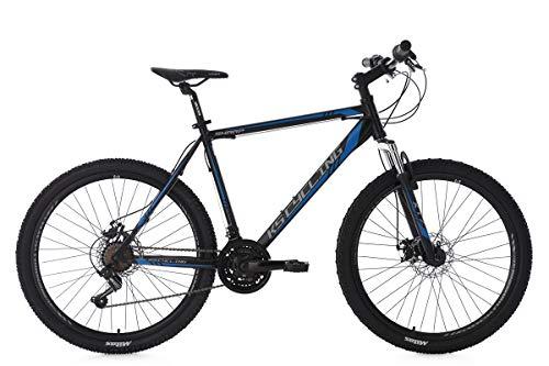 KS Cycling Sharp VTT Semi-Rigide Homme, Noir, 26''