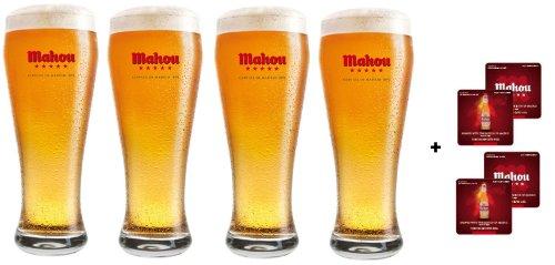 mahou-vetro-20-ml-bicchieri-plus-mahou-beer-mats-confezione-da-4