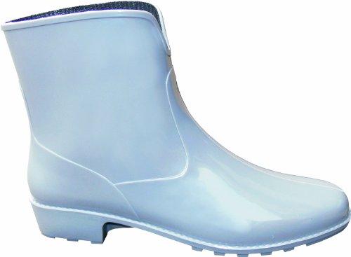 """Preisvergleich Produktbild Damen-Stiefel """"Michaela"""" 2218-0-400-41 Stiefel, PVC, mit Absatz, Profilsohle, weiter Einstieg, Größe 41, Farbe: grau"""
