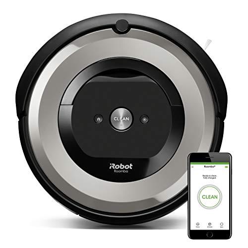 iRobot Roomba e5154, aspirateur robot, idéal pour les animaux, 2 brosses anti-emmêlement en...
