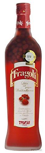 erdbeerlikoer Toschi Fragoli Walderdbeer-Likör aus Italien, 1er Pack (1 x 700 ml)