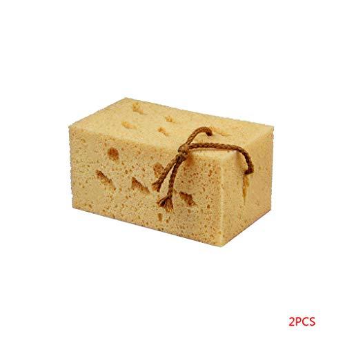 Yangge Yujum 2ST / Set Honeycomb Car Wash Sponge Coral Algen Car Wash Wachs Schwamm Reinigungs Scrubber-Werkzeug -