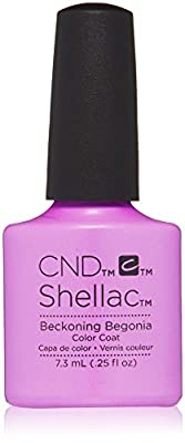 CND Shellac beckoning begonia nail polisher, 7.3 ml, pack of 1 (1 x 0.007 litres)