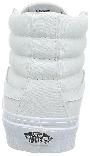 Vans Sk8-hi Slim, Baskets Adulte Mixte Blanc ((canvas)truwh