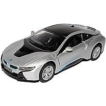 BMW I8 Coupe Plata, a Partir de 2013, Escala 1/32, Kinsmart