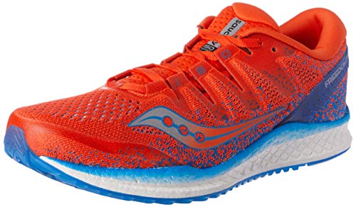 Saucony Freedom ISO 2, Scarpe Running Uomo, Arancione (Orange/Blue 36), 41 EU