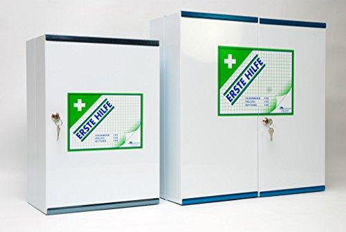 ERSTE HILFE DEPOTSCHRANK/METALL +OENORM Z1020 FUELLUNG 1-FLUEGELIG TYPE 1 LEER (1 ST)