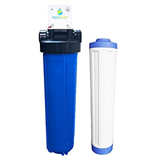 AquaHouse NSWS XL Enthärtungsanlage Wasserenthärter Alternative System, bewährte 99,6% effektive Kalk Skala Prävention