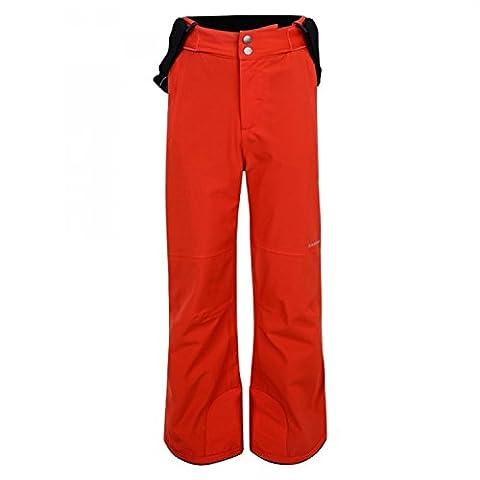 Dare 2B Take On - Pantalon de ski - Enfant unisexe (7-8 ans) (Rouge)