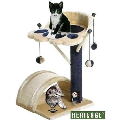 regalos kawaii gato HERITAGE 69TREE Poste de gato, árbol rascador, centro de actividad