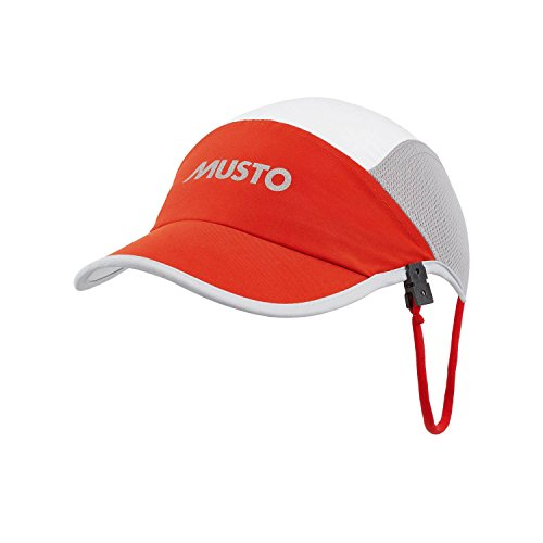Musto-Evolution-Cap-Fire-Orange-AE0101
