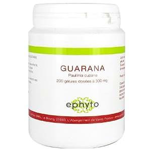 Ephyto - Guarana - 200 gélules - Tonique et stimulant