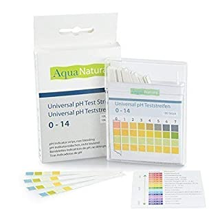 AquaNatura Universal pH Test Strips 0-14 For water, urine, saliva, soap plus many other uses