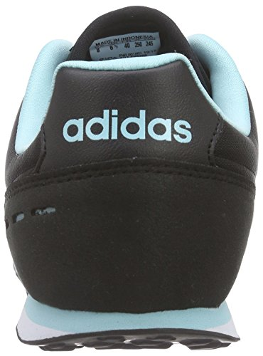 adidas City Racer W, Chaussures de Running Compétition Femme, Noir (Negbas / Ftwbla / Rosimp) Noir / blanc / bleu (noir essentiel / blanc Footwear / bleu zest)
