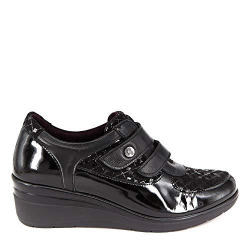 5238 Charol Negro - Color - Negro, Nº de pie - 38