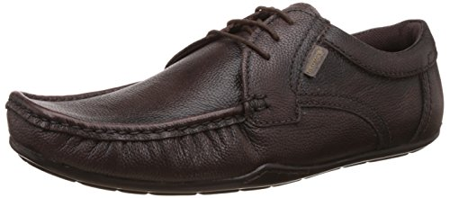 Red Tape Men's Brown Leather Formal Shoes