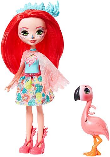 Enchantimals - Muñeca Fanci Flamingo con Mascota Swash (Mattel GFN42)