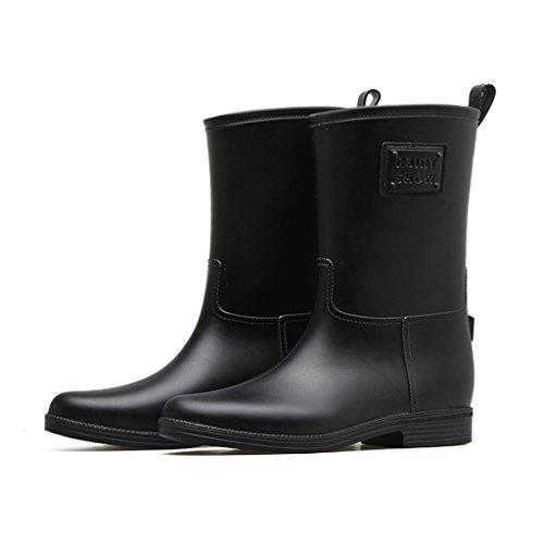 Captain Black Erwachsene Stiefel - Martin Regen Stiefel Aus Kunststoff Schuhe