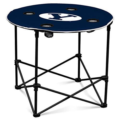 Logo Brands NCAA BYU Runder Tisch, eine Größe, Multicolor