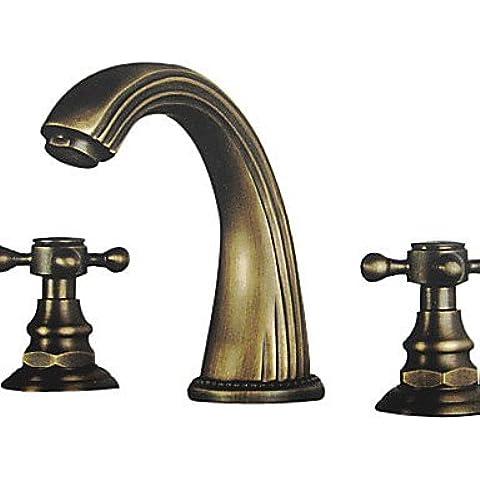 KHSKX ottone lucido con finitura in ottone lavandino rubinetto del bagno (diffusa)