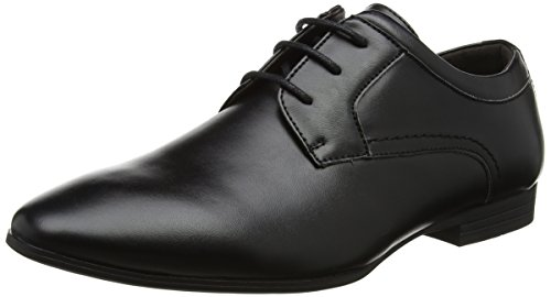 New Look Men's Tuffnell Formal Gibson Derbys, Black (Black), 8 UK 42...