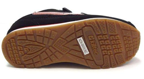 Killtec Kinderschuhe KP 845 Jr. Velcro 18286-00200 Unisex - Kinder Halbschuhe Sportschuhe Schwarz (Black/Red/White)