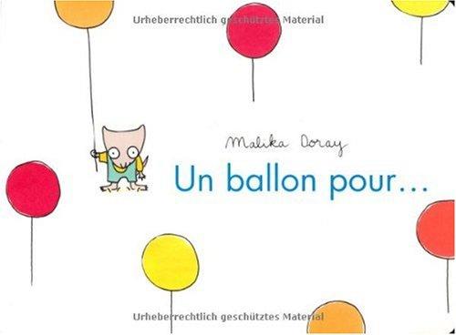 Un ballon pour... par Malika Doray