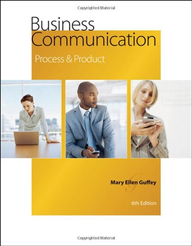 PDF Download Business Communication Process And Product