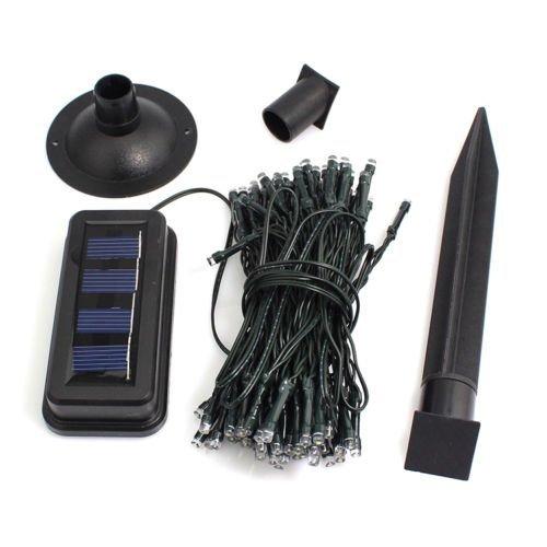 100LED im Freien Garten ¨ ªn Patio C ¨ ¦ Sped Feen Neue Kette Solar Licht von Weihnachten ()