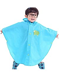 Highdas bébé Enfants pluie Poncho Poncho capuche Costume étanche Taille 80-130cm