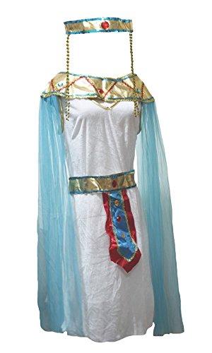 n-Kostüm ägyptische Königin Party Dress Up für Frauen Gr. One Size, mehrfarbig (Dress Up Kostüme Für Frauen)