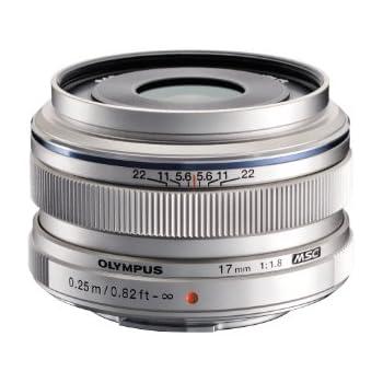 Olympus M.Zuiko Digital - Objetivo (17mm, MILC, 9/6, amplio, 57.5 mm, 46 mm, 35.5 mm)