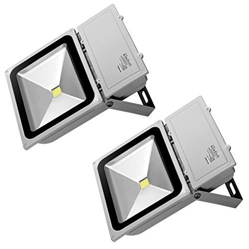 D-Flut-Licht Im Freienflut-Licht Energiesparendes Flutlicht Außenlicht Fluter Flutlicht Flutlichtstrahler Scheinwerfer IP65,Kühles Weißes (100w Led Im Freien)