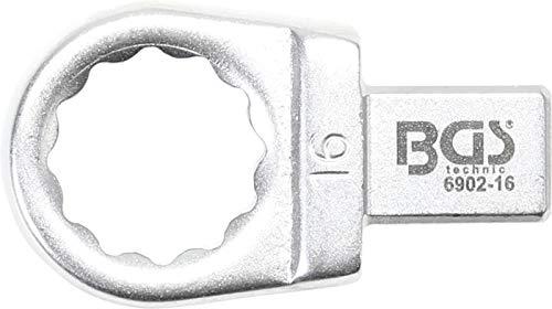 BGS 6902-16 | Einsteck-Ringschlüssel | 16 mm | Aufnahme 9 x 12 mm