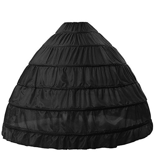 BEAUTELICATE Petticoat Reifrock Unterröcke Damen Lang Fur Brautkleid Hochzeitskleid Vintage...