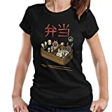 Cloud City 7 Bento Spirits Studio Ghibli Women's T-Shirt