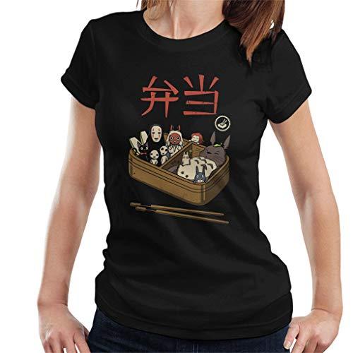 Cloud City 7 Bento Spirits Studio Ghibli Women's T-Shirt