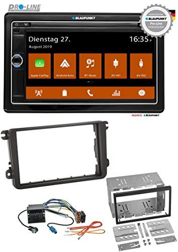 caraudio24 Blaupunkt Passau 590 DAB SD Bluetooth MP3 USB 2DIN DAB Autoradio für Skoda Praktik Superb Yeti