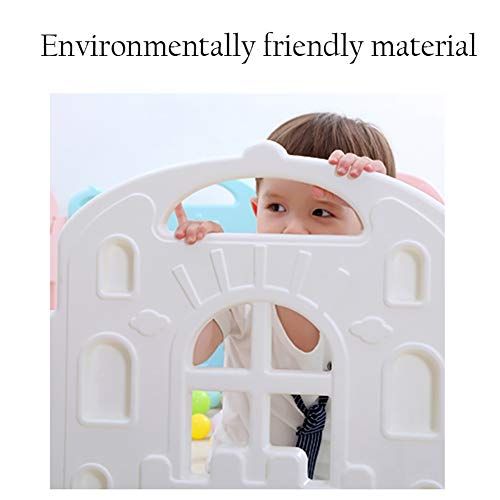 Baby playpen 16+2 Panels Safety Fence Indoor Children's Playards Toddler Fence  Sugar-Bai
