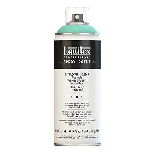 Liquitex Professional - Acrílico en spray, 400ml, verde ftalocianina
