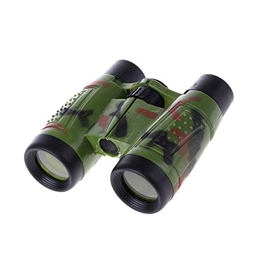 Leezo Children Mini télescope Pliable pour Enfant 4 x Jumelles légères et compactes avec Boussol