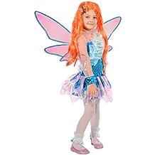 Ciao Bloom Tynix Costume trasformazione Winx Club Bambina, 7,9 Anni, Blu,